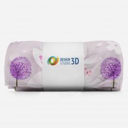 3D плед «Яркие одуванчики»