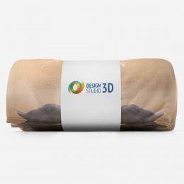 3D плед «Влюбленные лебеди»