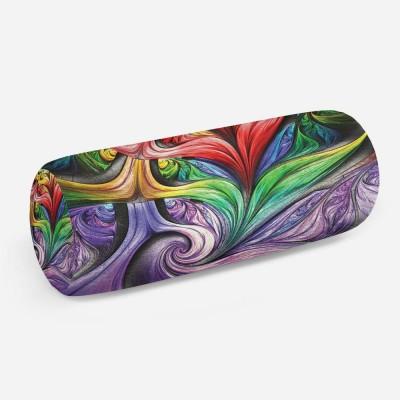 3D подушка-валик «Смешение красок»