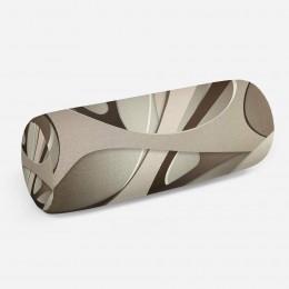 3D подушка-валик «Удивительная абстракция»