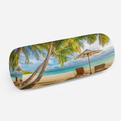 3D подушка-валик «Тропический зной»