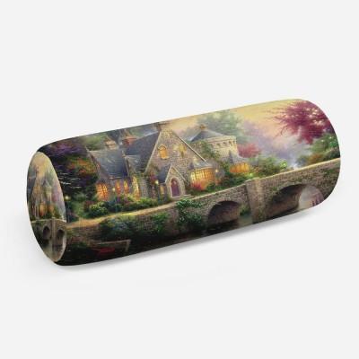 3D подушка-валик «Томас Кинкейд. Сказочный домик»
