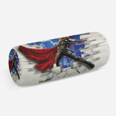 3D подушка-валик «Тор из-за стены»