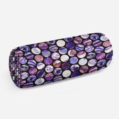 3D подушка-валик «Космический мрамор»
