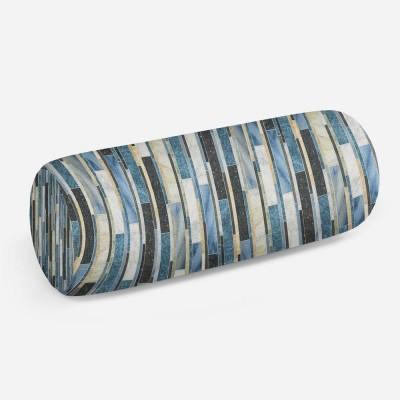 3D подушка-валик «Каменные линии»