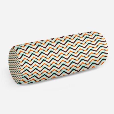 3D подушка-валик «Яркие зигзаги»