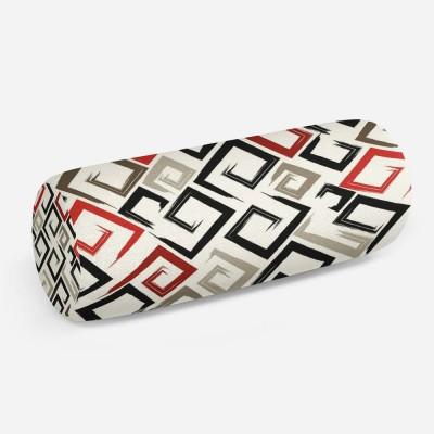 3D подушка-валик «Цветные штрихи»