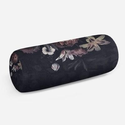 3D подушка-валик «Цветочное покрывало»