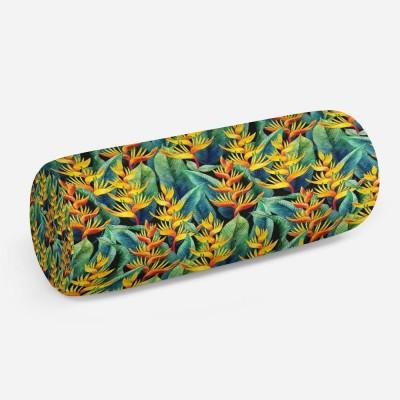 3D подушка-валик «Тропическая мелодия»