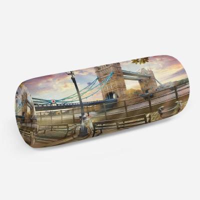 3D подушка-валик «Тауэрский мост»