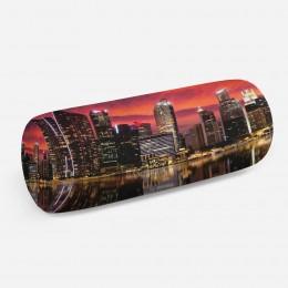 3D подушка-валик «Мегаполис.Город»