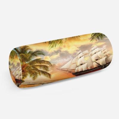 3D подушка-валик «Пиратская гавань»