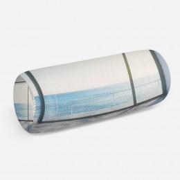 3D подушка-валик «Окно-терраса»