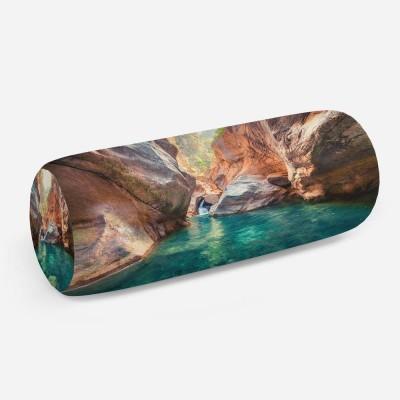 3D подушка-валик «Ущелье»