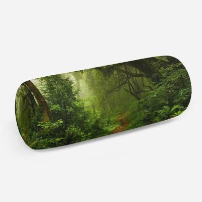 3D подушка-валик «Тропический лес»