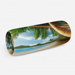 3D подушка-валик «Пляж»
