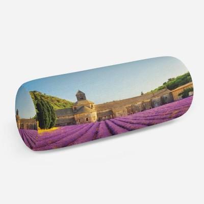 3D подушка-валик «Усадьба в Провансе»