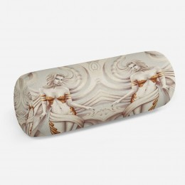 3D подушка-валик «Барельеф с сиренами»