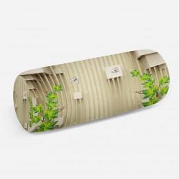 3D подушка-валик «Объемные кубы»