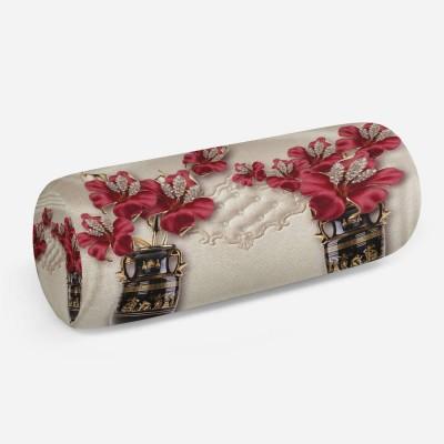 3D подушка-валик «Инсталляция с античными вазами»