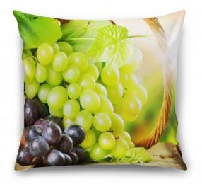 3D Подушка «Грозди винограда»
