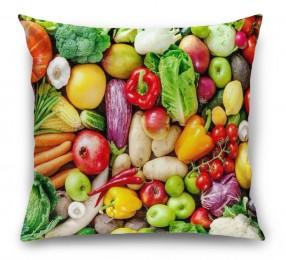 3D Подушка «Фруктово-овощное изобилие»