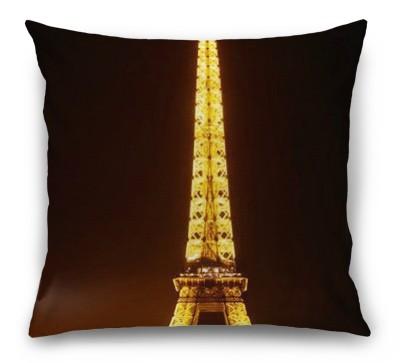 3D Подушка «Эйфелева башня ночью»