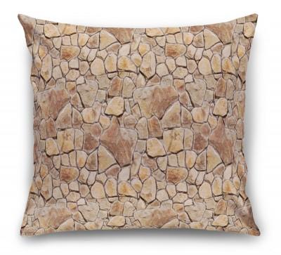 3D Подушка «Каменная кладка»