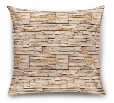 3D Подушка «Текстура декоративного камня»