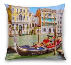 3D Подушка «Яркий полдень в Венеции»