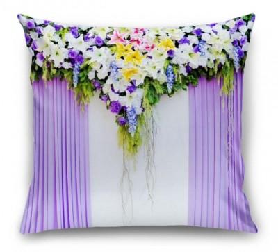 3D Подушка «Сиреневая вуаль»