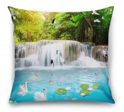 3D Подушка «Благоухающий водопад»