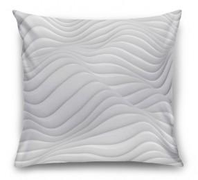 3D Подушка «Объемные волны»