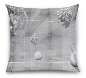 3D Подушка «Физическая абстракция»