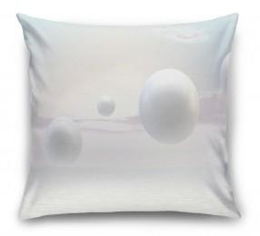 3D Подушка «Жемчужины парящие над океаном»