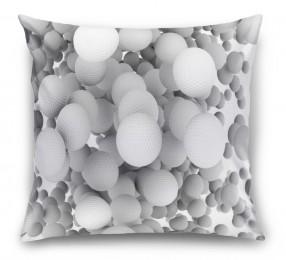 3D Подушка «Мячи для гольфа»