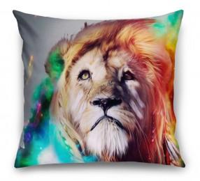 3D Подушка «Царь зверей»