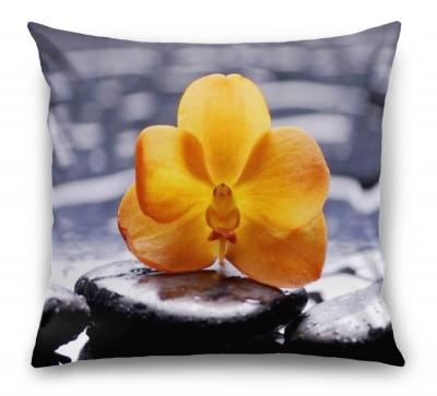 3D Подушка «Яркая орхидея»