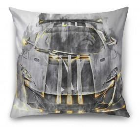 3D Подушка «Мощная спортивная машина»