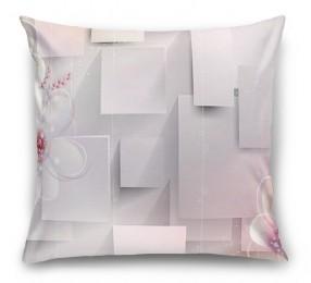 3D Подушка «Волшебные цветы»