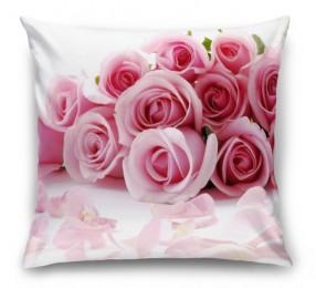 3D Подушка «Чайные розы»