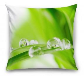 3D Подушка «Трава с росой»