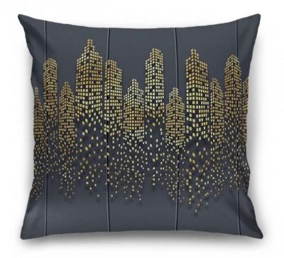 3D Подушка  «Огни золотого города»