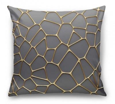 3D Подушка  «Золотая паутина»