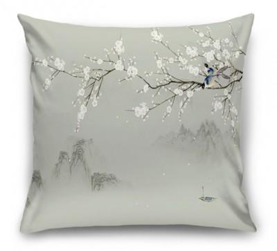 3D Подушка «Снег из лепестков»