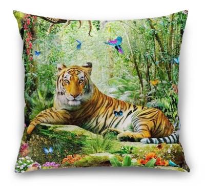 3D Подушка «Отдыхающий тигр»