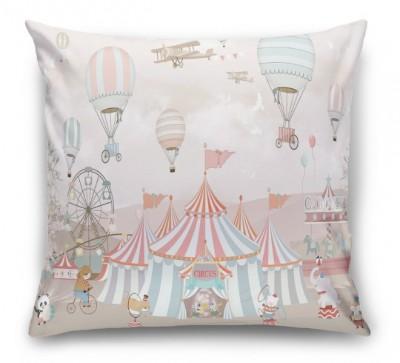 3D Подушка «Цирк шапито»
