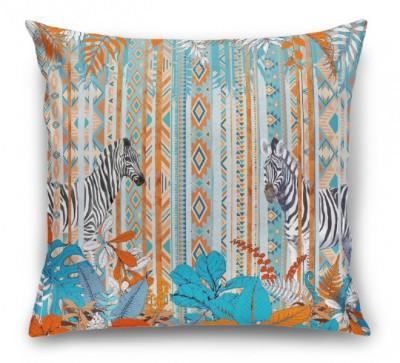 3D Подушка «Этнические зебры»