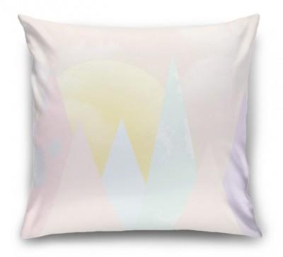 3D Подушка «Нежные горы для детской»