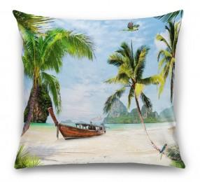 3D Подушка «Карибский берег»